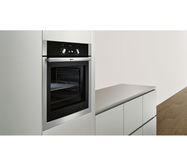 Buy neff b14m42n5gb electric oven stainless steel free delivery currys - Neff electric ...