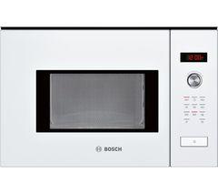 BOSCH Serie 6 HMT75M624B Built-in Solo Microwave - White