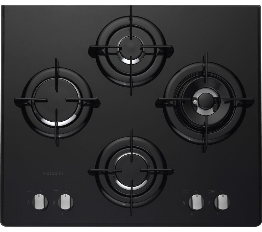 HOTPOINT  DD 642 PH(BK) Gas Hob  Black Black