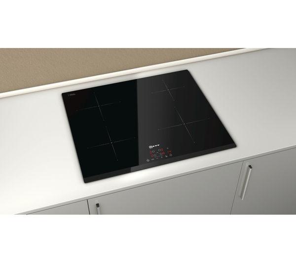 buy neff t41b30x2 electric induction hob black free. Black Bedroom Furniture Sets. Home Design Ideas
