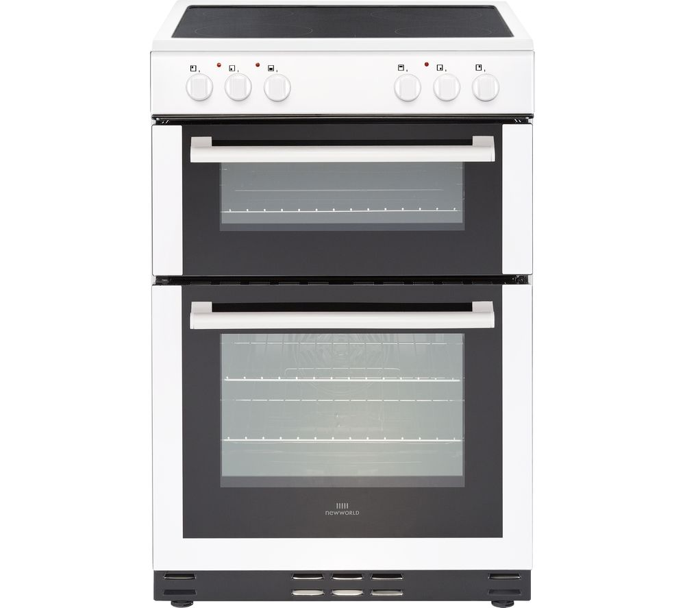 New World 60edoc 60 Cm Electric Cooker White