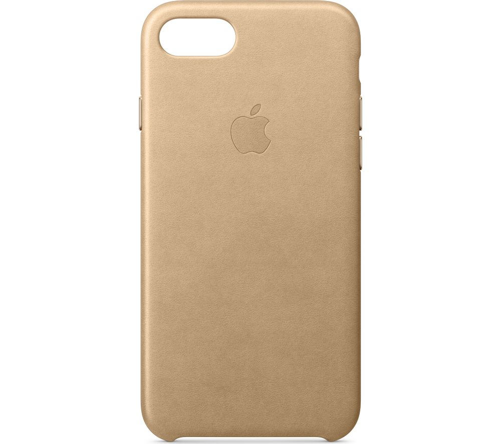 APPLE  Leather iPhone 7 Case - Tan, Tan.