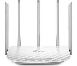 TP-LINK Archer C60 Wireless Cable & Fibre Router - AC 1350, Dual-band