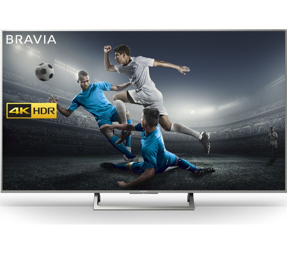 buy sony bravia kd75xe8596bu 75 smart 4k ultra hd hdr led tv free delivery currys. Black Bedroom Furniture Sets. Home Design Ideas
