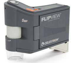 CELESTRON 44315-CGL Flipview Microscope