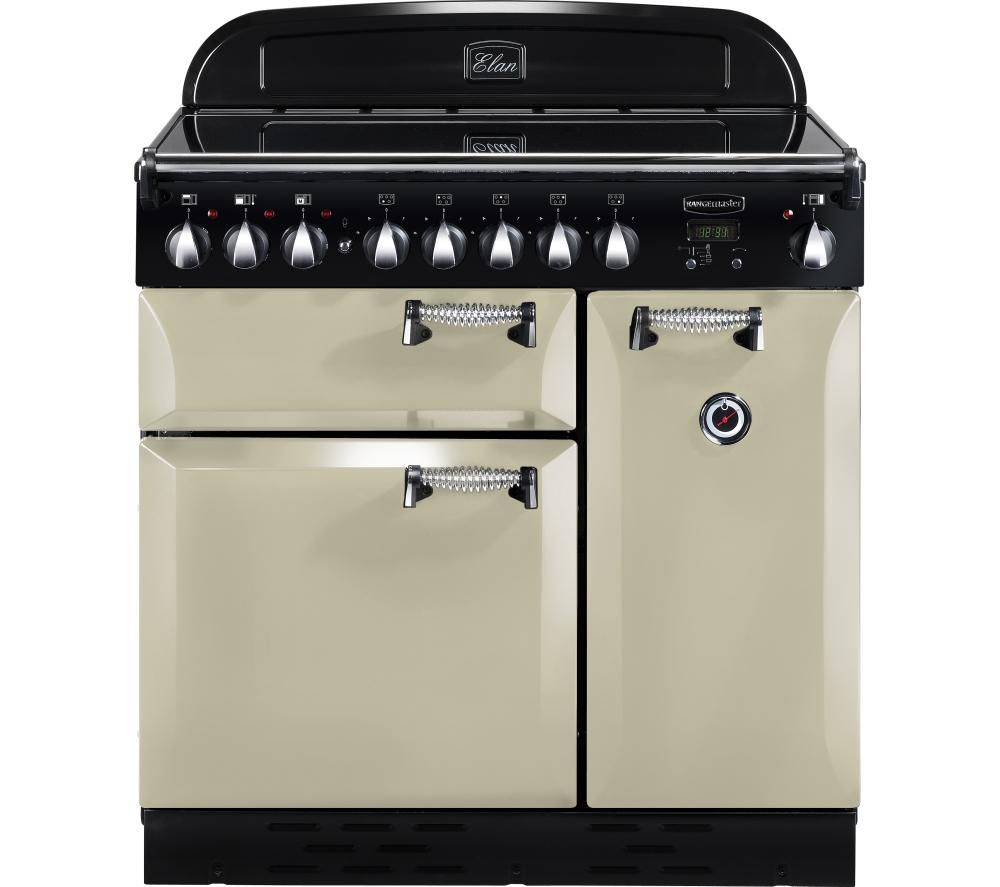buy rangemaster elan 90 electric induction range cooker. Black Bedroom Furniture Sets. Home Design Ideas