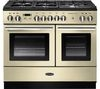 RANGEMASTER Professional+ FX 100 Dual Fuel Range Cooker - Cream & Chrome