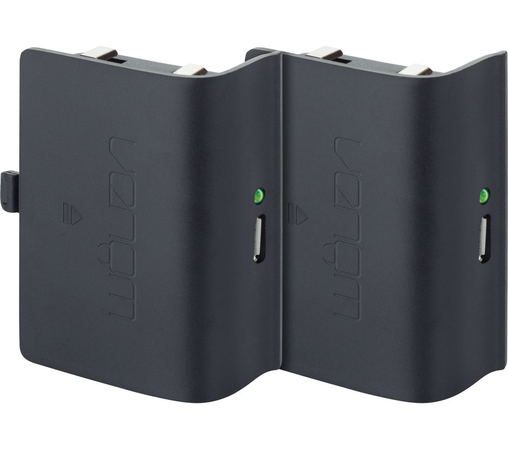 buy venom xbox one twin rechargeable battery packs free delivery currys. Black Bedroom Furniture Sets. Home Design Ideas