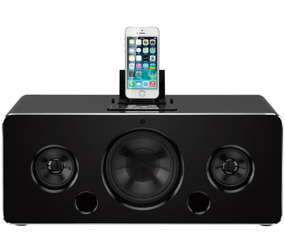 Image of IWANTIT IBTLIA14 Wireless Speaker Dock - with Apple Lightning Connector, Black