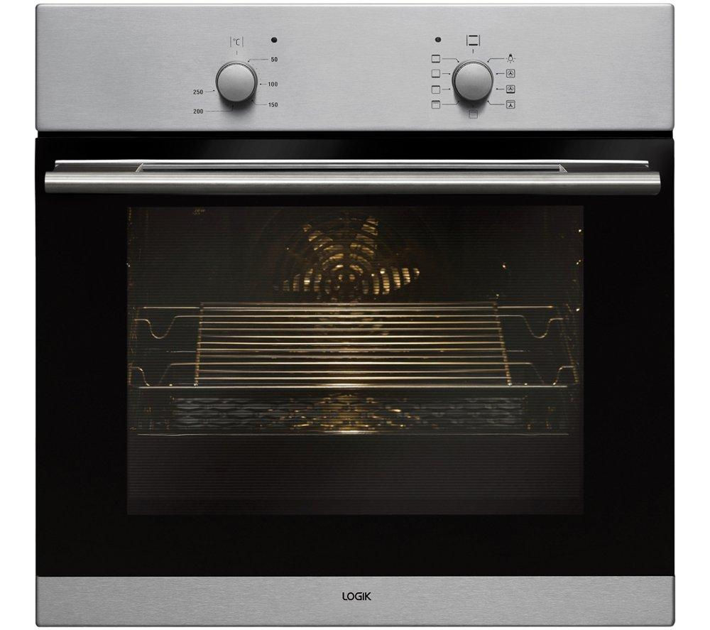 Logik LBFANX14 Electric Oven  Stainless Steel Stainless Steel