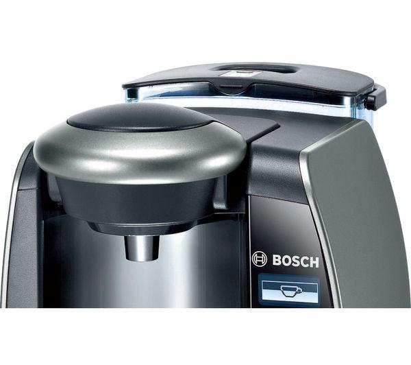 Buy BOSCH Tassimo Fidelia Plus TAS6515GB Hot Drinks Machine - Titanium Free Delivery Currys