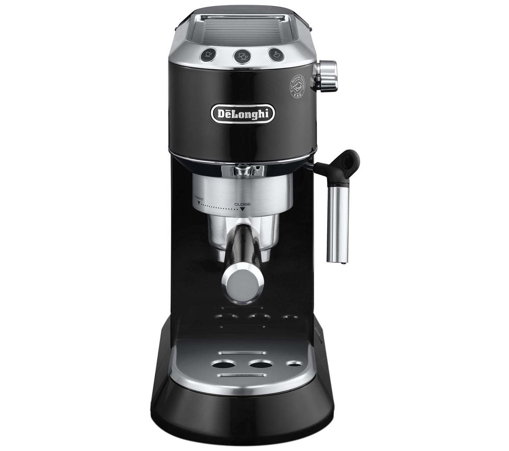 buy delonghi dedica ec680blk coffee machine black free delivery currys. Black Bedroom Furniture Sets. Home Design Ideas
