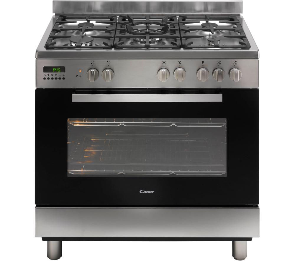 Image of CANDY CCG9M52PX Maxi Dual Fuel Range Cooker - Stainless Steel, Stainless Steel