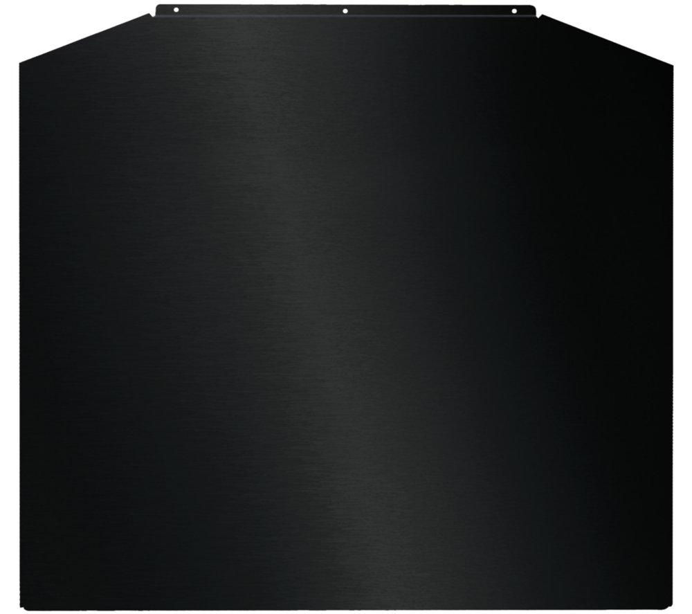 BAUMATIC BSC7BL Stainless Steel Splashback - Black