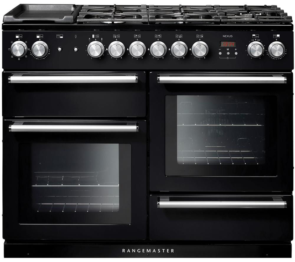 rangemaster nexus 110 dual fuel range cooker review. Black Bedroom Furniture Sets. Home Design Ideas