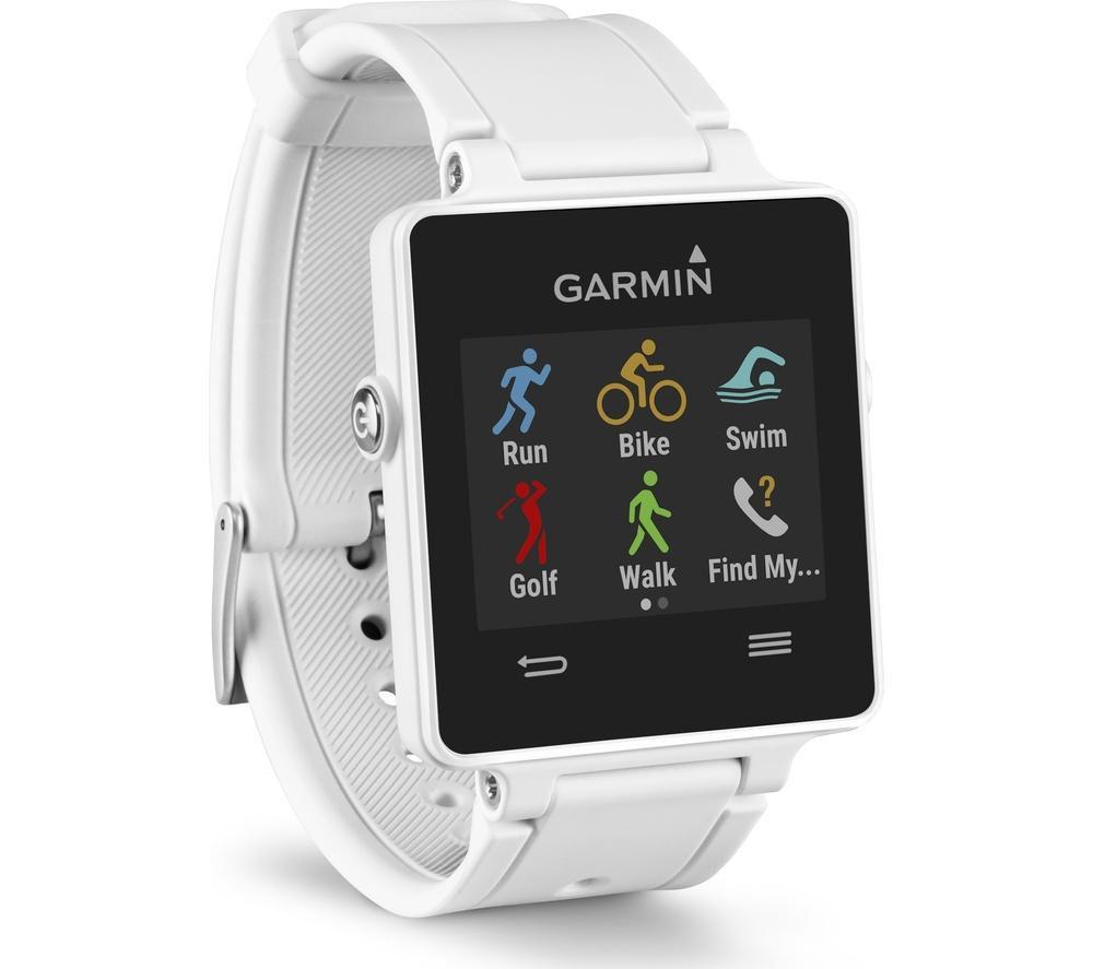 GARMIN vivoactive GPS Smartwatch - White