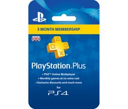 PLAYSTATION 4 PlayStation Plus 3 Month Subscription