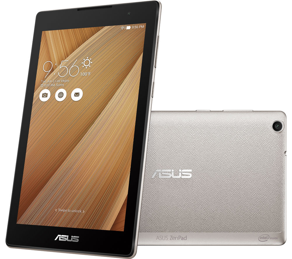"Image of Asus ZenPad Z170C 7"" Tablet - 16 GB, Silver"