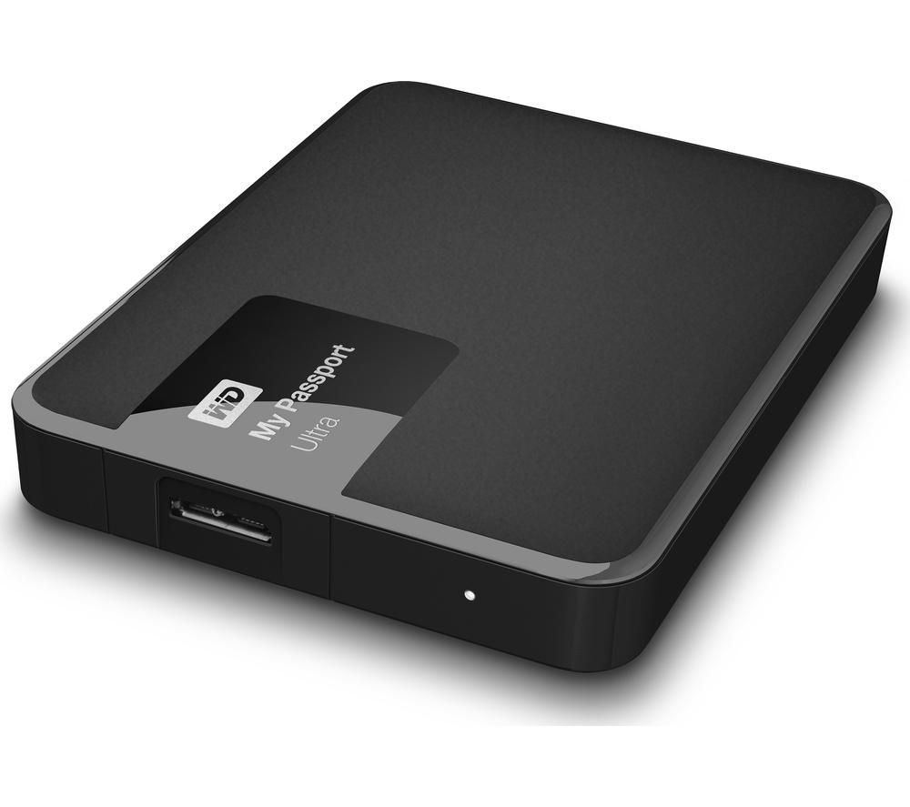 WD My Passport Ultra Exclusive Edition Portable Hard Drive - 2 TB, Black