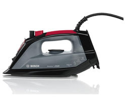 BOSCH TDA2060GB Steam Iron - Black & Red