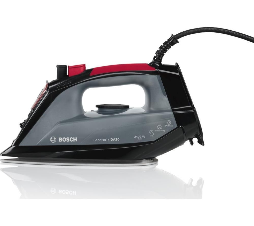 Bosch TDA2060GB 2400W 300 ml Steam Iron (Black & Red)