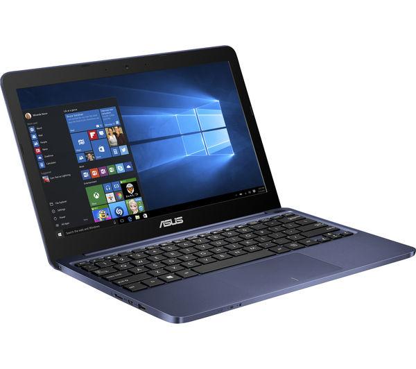 "Image of ASUS E200HA 11.6"" Laptop - Blue"