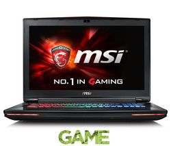 "MSI Dominator Pro G GT72 6QE 802UK 17.3"" Gaming Laptop - Black"