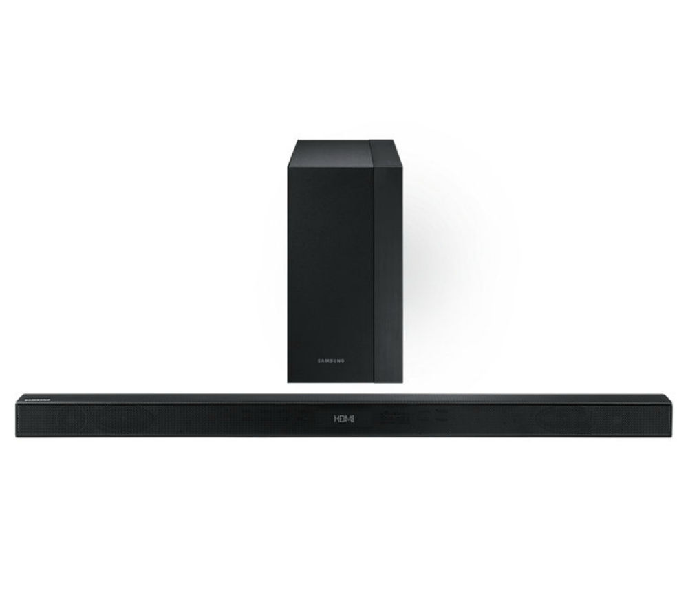 Samsung hw k450 2 1 wireless sound bar deals pc world for Samsung sound bar