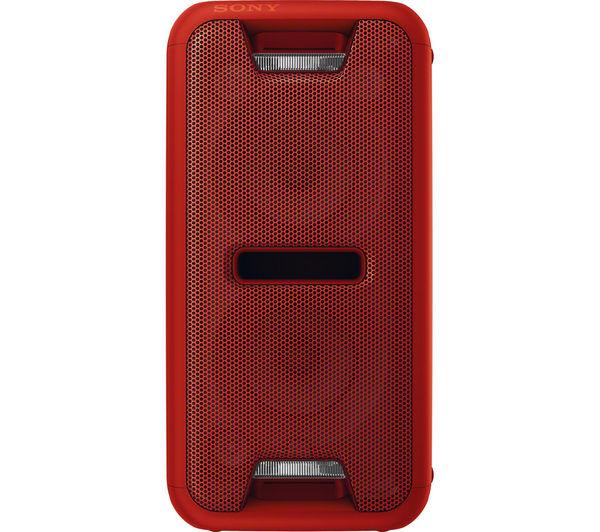 Image of SONY GTK-XB7R Wireless Megasound Hi-Fi System - Red