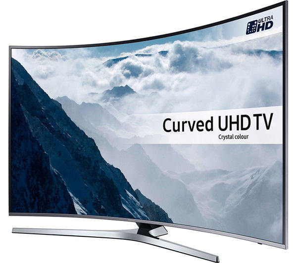 buy samsung ue55ku6670 smart 4k ultra hd hdr 55 curved led tv s2hdm315 hdmi cable with. Black Bedroom Furniture Sets. Home Design Ideas