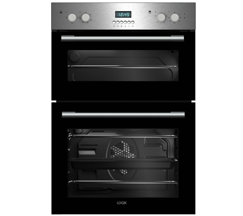 Double Ovens Electric ~ Buy logik lbidox electric double oven stainless steel
