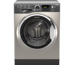 HOTPOINT Smart+ RSG964JGX Washing Machine - Graphite