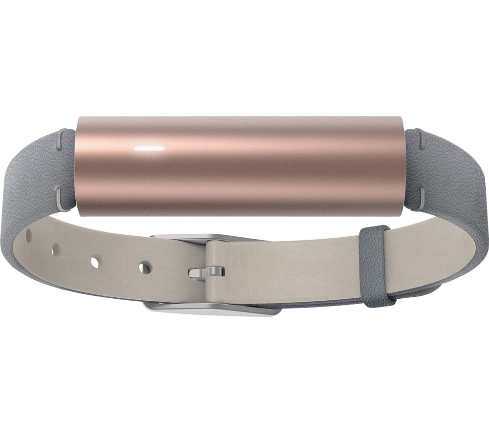 MISFIT Ray Activity Tracker - Rose Gold, Leather Strap