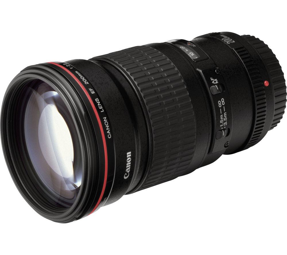 CANON EF 200mm f/2.8 L USM II Telephoto Prime Lens