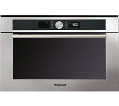 HOTPOINT MD 454 IX H Built-In Combination Microwave - Stainless Steel