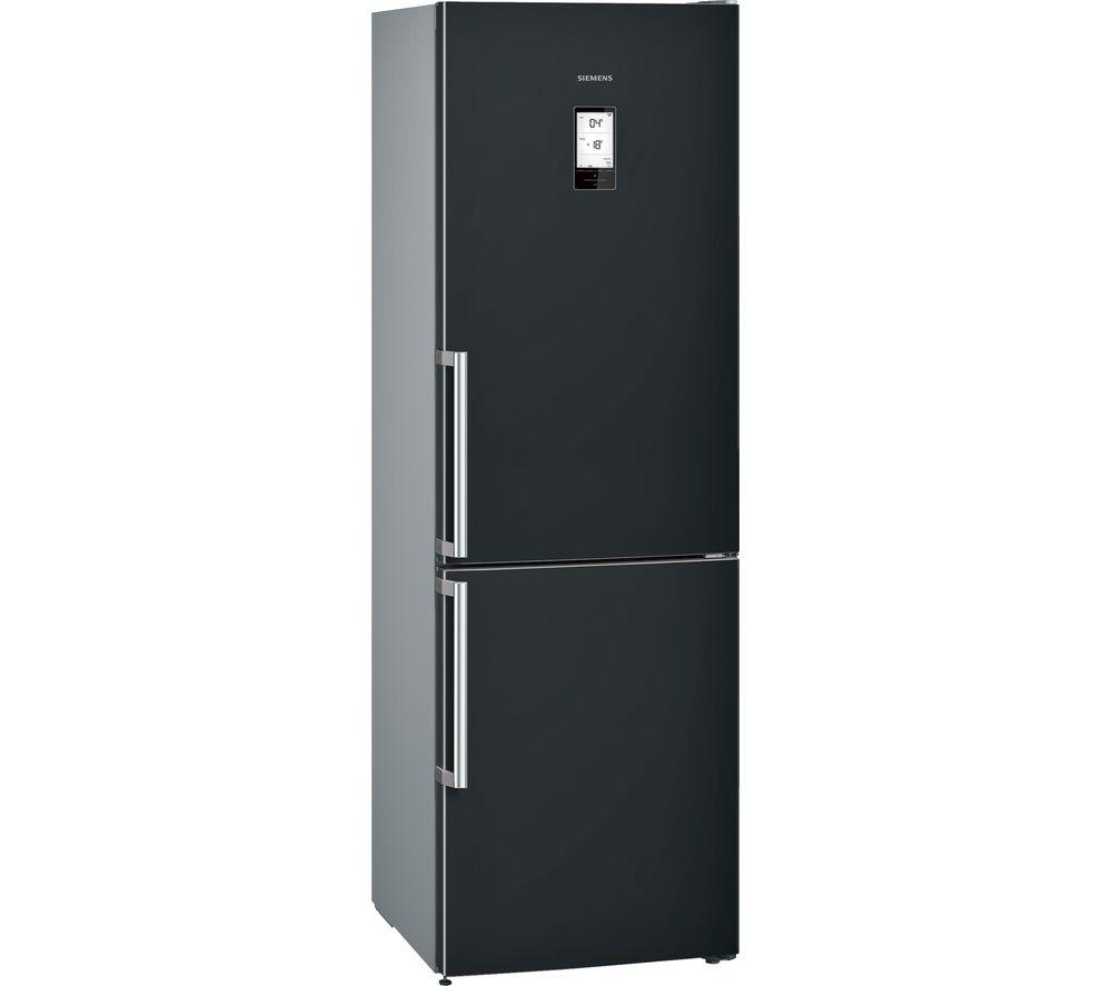SIEMENS  KG36NAB35G Smart Fridge Freezer  Black Black
