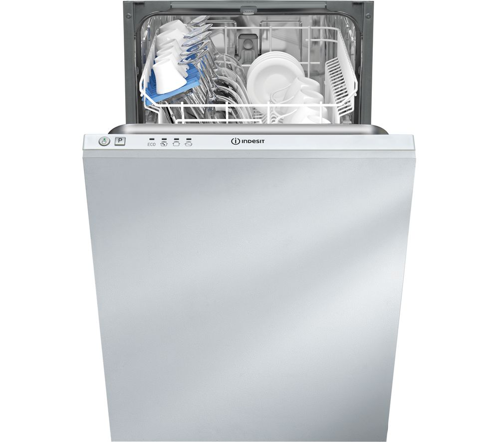 INDESIT  DISR 14B1 Slimline Integrated Dishwasher