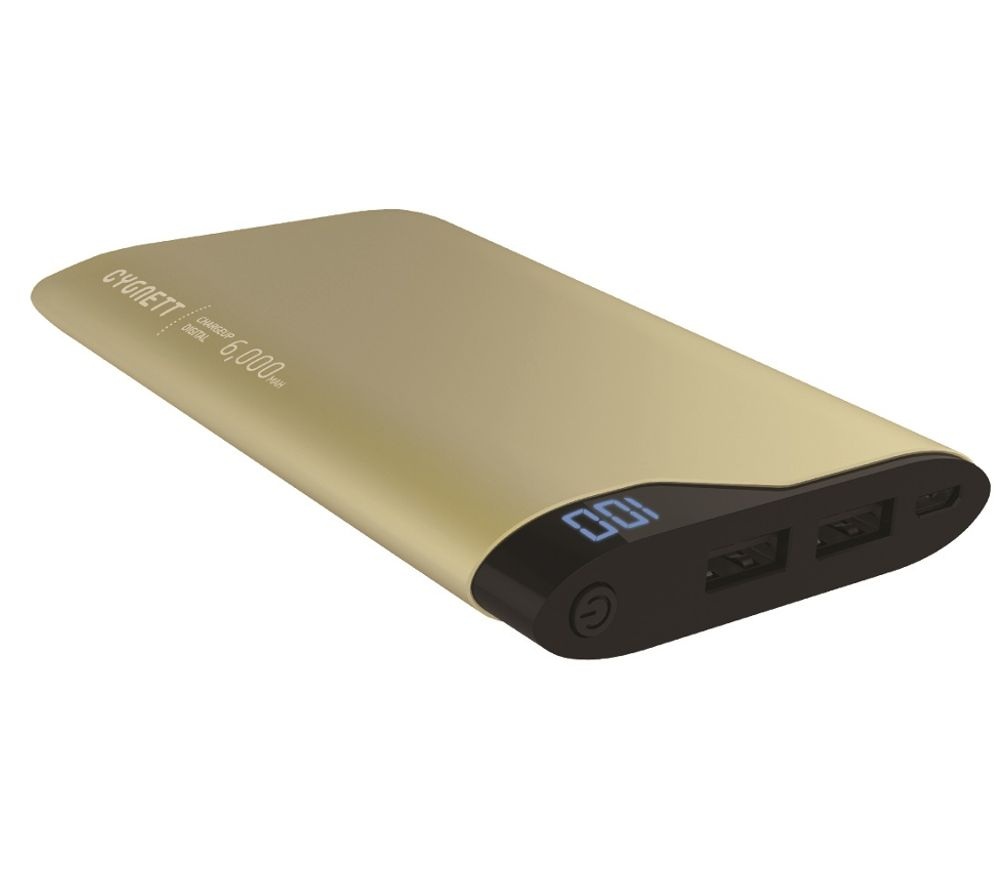 CYGNETT ChargeUp Portable Power Bank - Gold