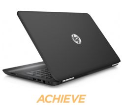 "HP Pavilion 15-au182sa 15.6"" Laptop - Black"