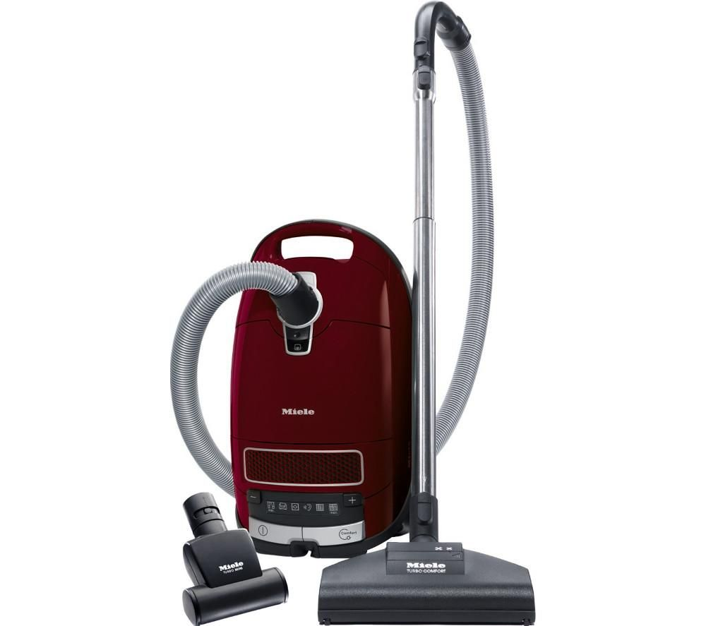 MIELE Complete C3 Cat & Dog PowerLine Turbo Cylinder Vacuum Cleaner  Red Red