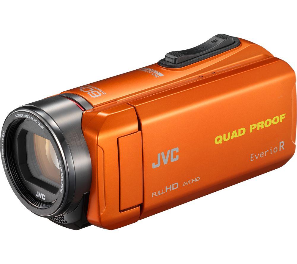 JVC GZ-R435DEK Camcorder - Orange