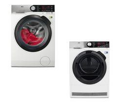 AEG SoftWater L9FSC949R Washing Machine - White