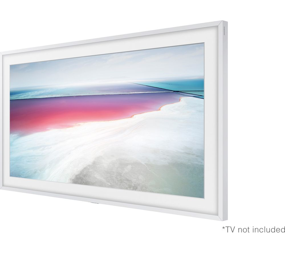 buy samsung frame customisable bezel white free. Black Bedroom Furniture Sets. Home Design Ideas