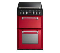 STOVES Richmond 550DFW Dual Fuel Cooker - Hot Jalapeño
