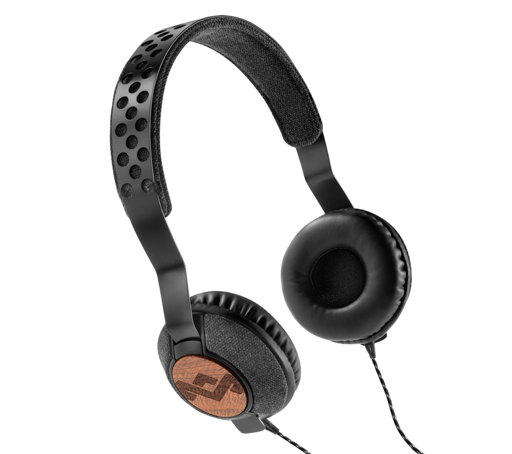Click to view more of HOUSE OF MARLEY  Liberate Midnight Headphones - Black, Black