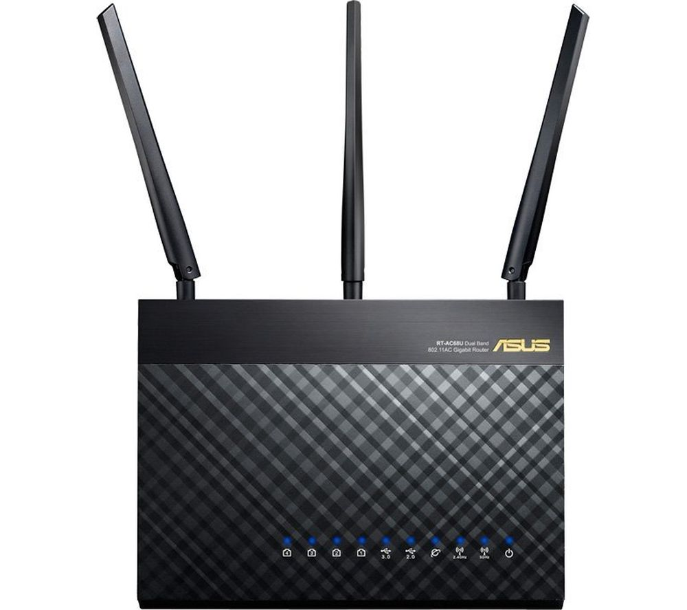 ASUS RT-AC68U Wireless Router - AC1900, Dual Band