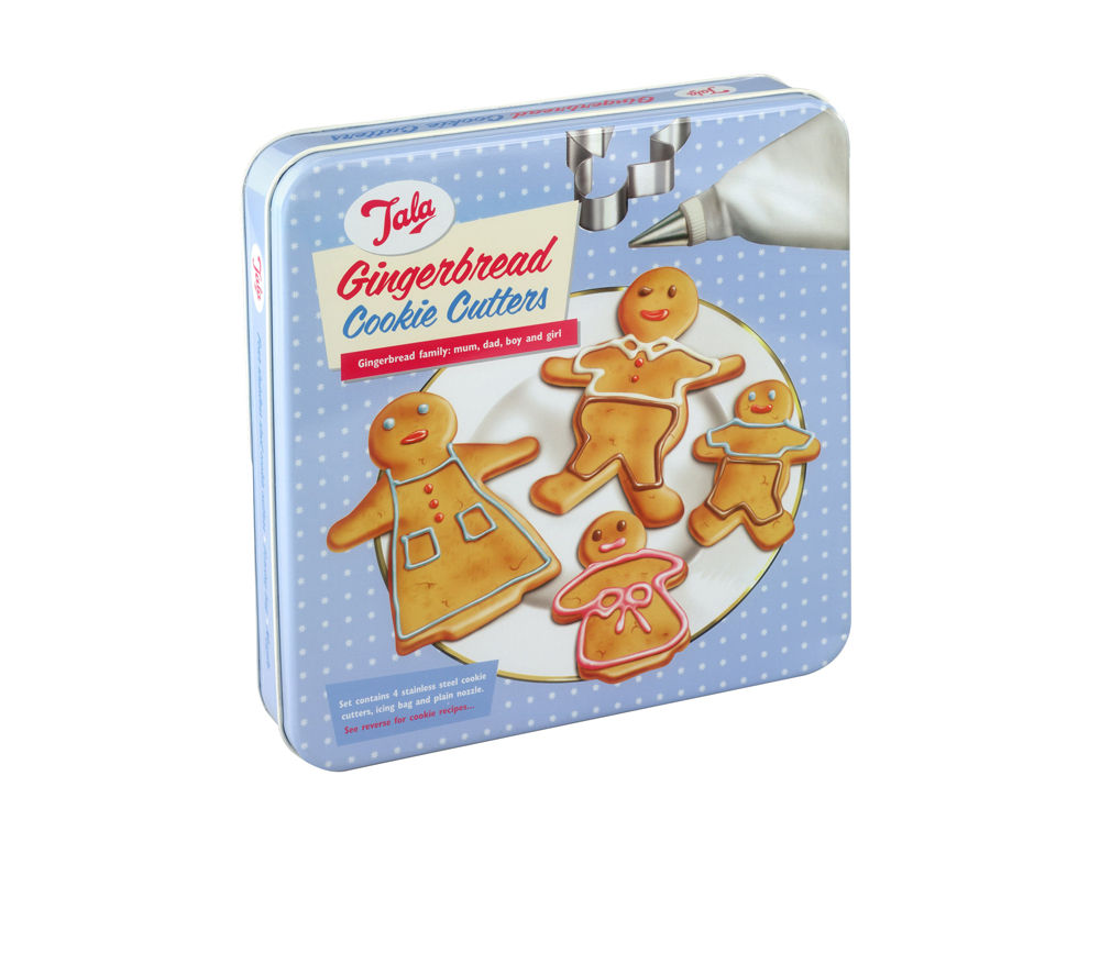 TALA 1950/17 Gingerbread Cookie Cutters