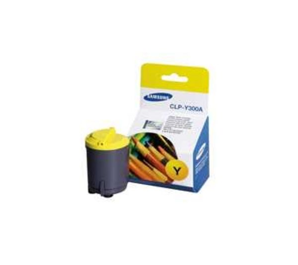 CLP-Y300A Yellow Toner Cartridge, Yellow