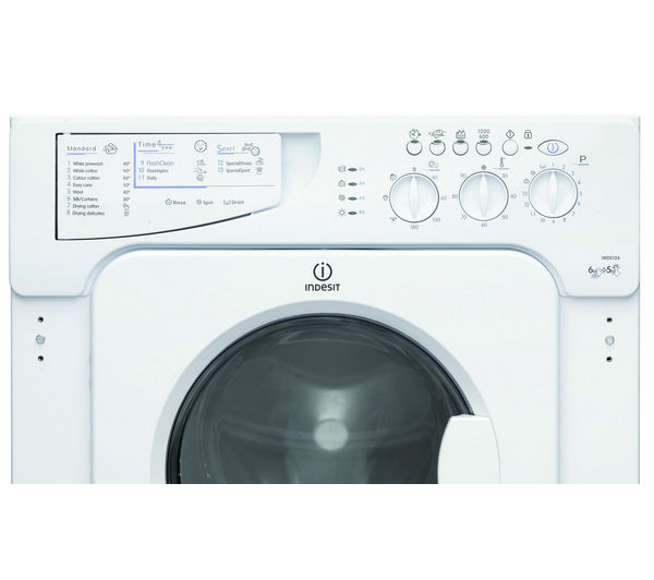indesit washer dryer instructions
