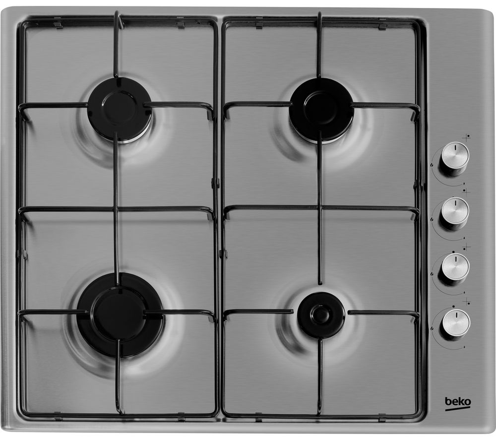 BEKO  HIZG64120SX Gas Hob  Stainless Steel Stainless Steel